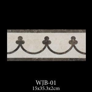 Waterjet Bordure | Afyon White