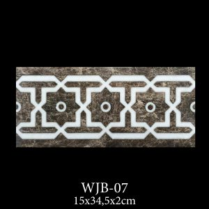 Waterjet Bordure | Afyon White